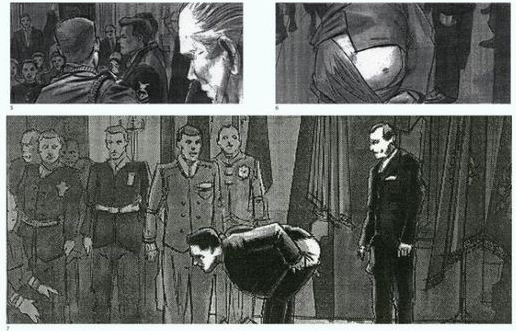 Storyboard from Forrest Gump